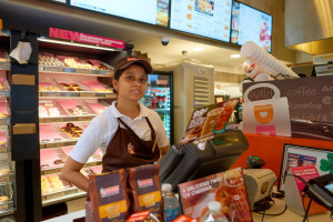 Dunkin donuts shutterstock_499364677