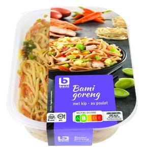 Voedingswaarde etikettering 27303 Bami goreng Boni Selection